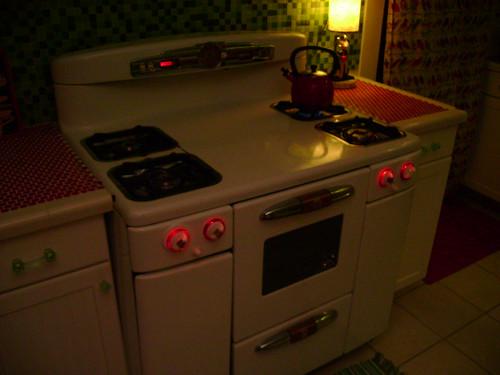 vintage stove lights