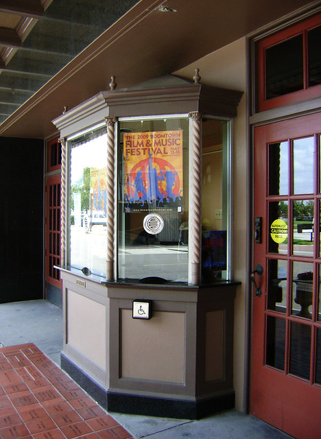 Jefferson Theatre Ticket Booth Beaumont Texas