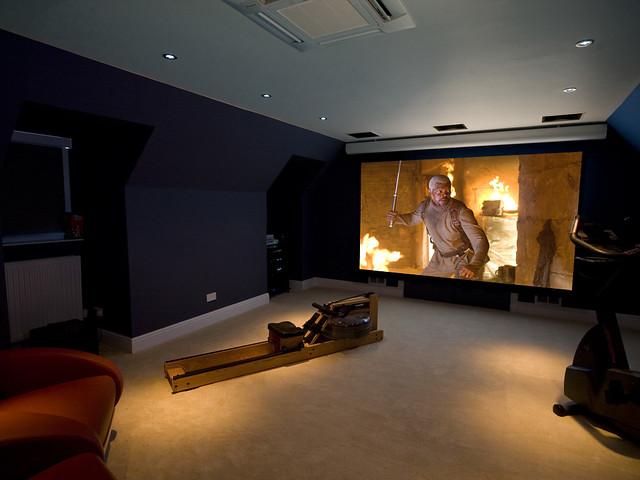 Loft Conversion Cinema Room Flickr Photo Sharing