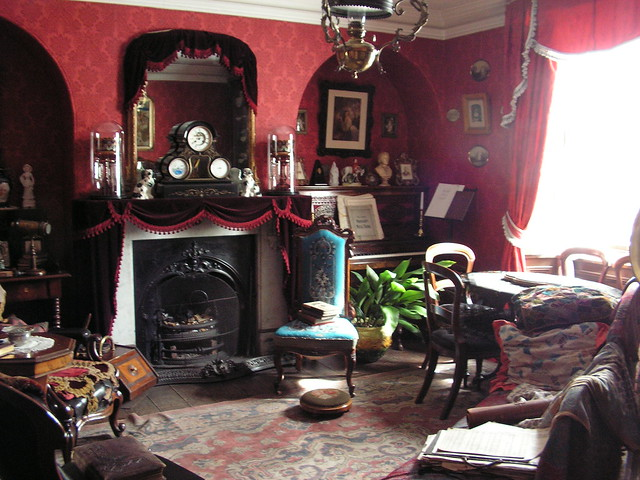 Victorian SittingRoom  Beamish Museum Tyne and Wear