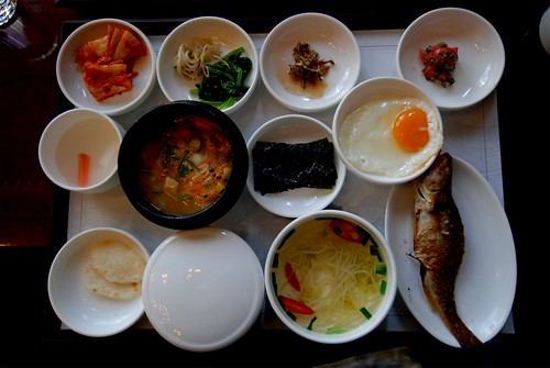 Korean breakfast by Scott Butner