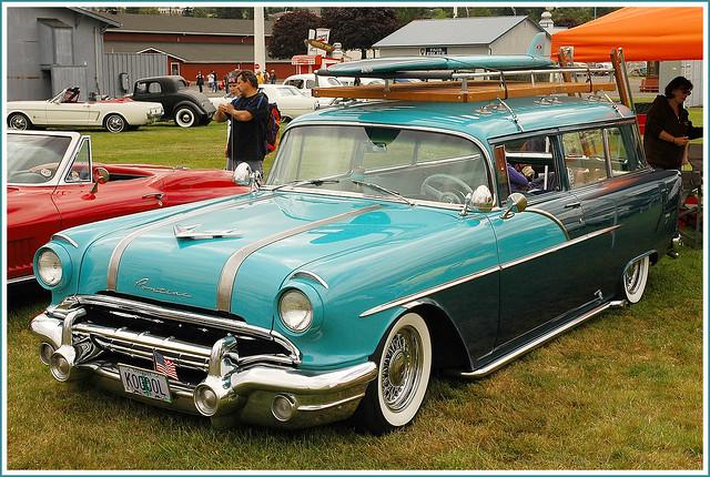 1956 Pontiac Station Wagon