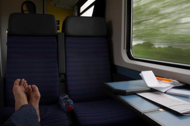 train trip europe