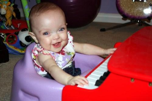 I love the piano