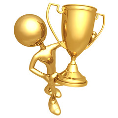 LuMaxArt Golden Guy Trophy Winner