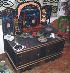wiccan pagan decor altar altars witch decorating witchcraft magick egyptian bedroom alter interior alters space kgrhqzhjb shrines craft