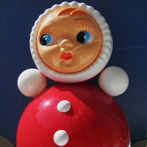 Nevаlashka or Hеваляшка - Vanka-vstanka / Russian roly-poly toy - Babadu - Dippedidu - Duikelaar - Tumbler