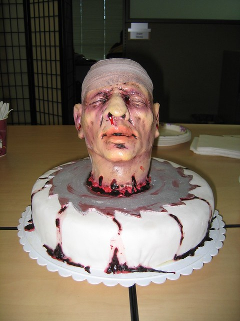 Severed Head Cake Flickr Photo Sharing