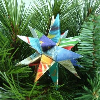 christmas card star