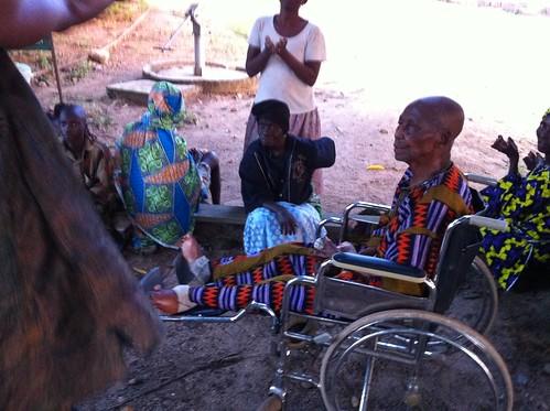 Bale (Mayor) of Iberekodo Leper Colony Abeokuta by Jujufilms