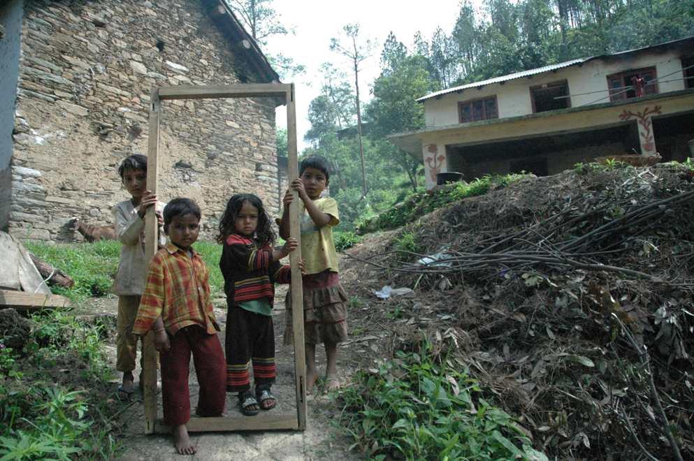 Magic Door - The door of Joy, Bhimtal, Uttarakhand, India
