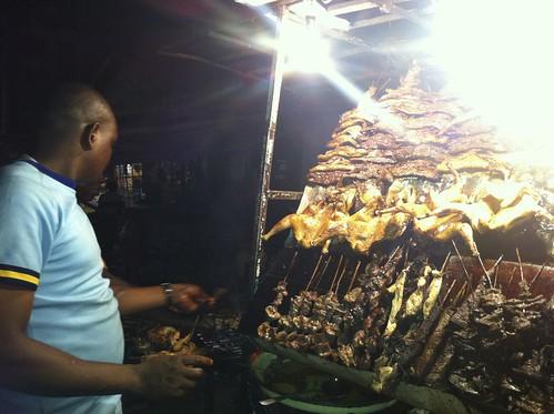 Obalende Lagos Open 24/7 - Suya in Obalende Lagos by Jujufilms