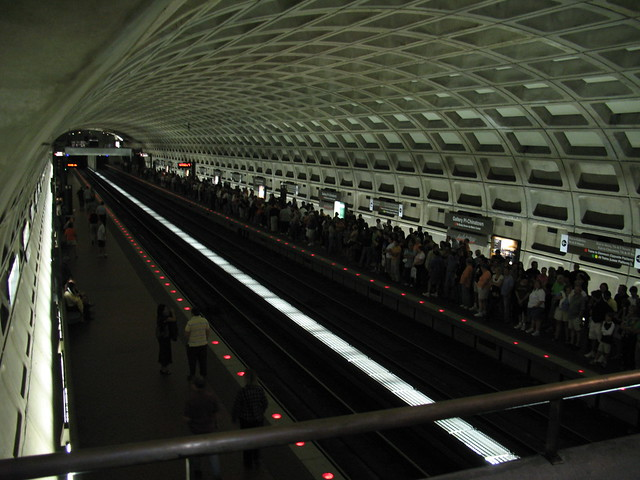 IMG_2524 - Washington DC - WMATA Metro Chinatown Station - After Genesis concert