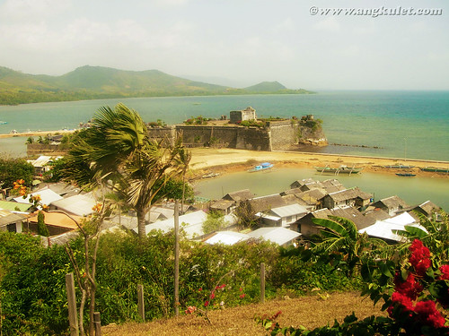 View of Fort Isabel from Casa Rosa, Taytay, Palawan