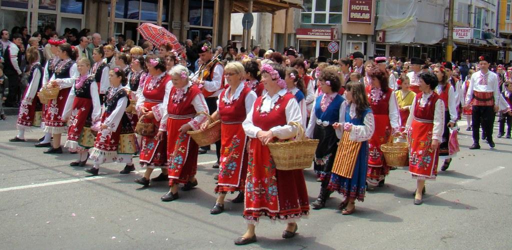 Festival de la Rosa desfile Kazanlak Bulgaria 45