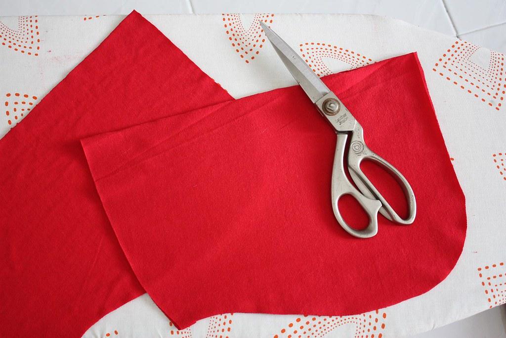 sewing aina's hood