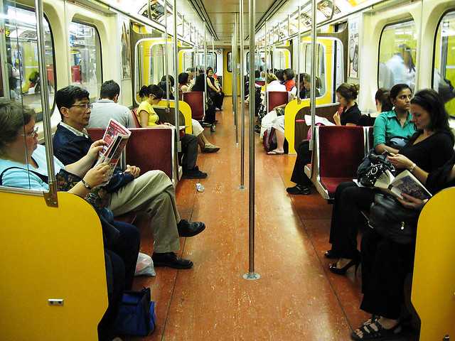 Going home : Toronto subway