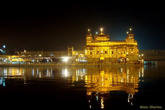 GOLDEN TEMPLE(NIGHT VIEW-2)