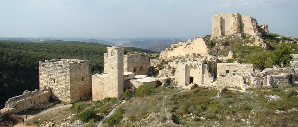 panoramica Siria Castillo de Saladino 60