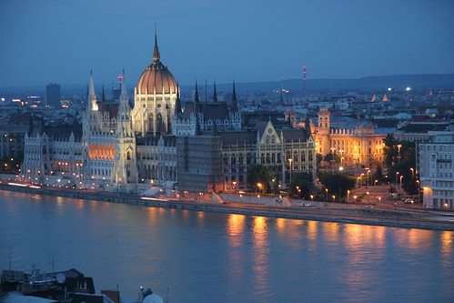Hungarian Parliament by webmink