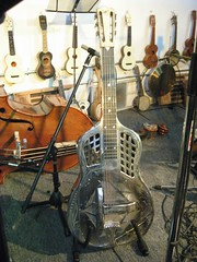 Jiro Matsui's National Tricone Guitar