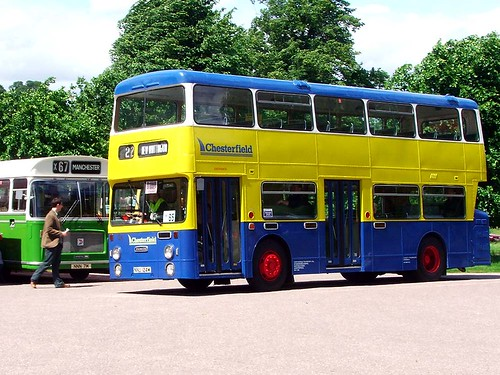 Chesterfield 124 - 1973 Daimler Fleetline Roe NNU124M ^