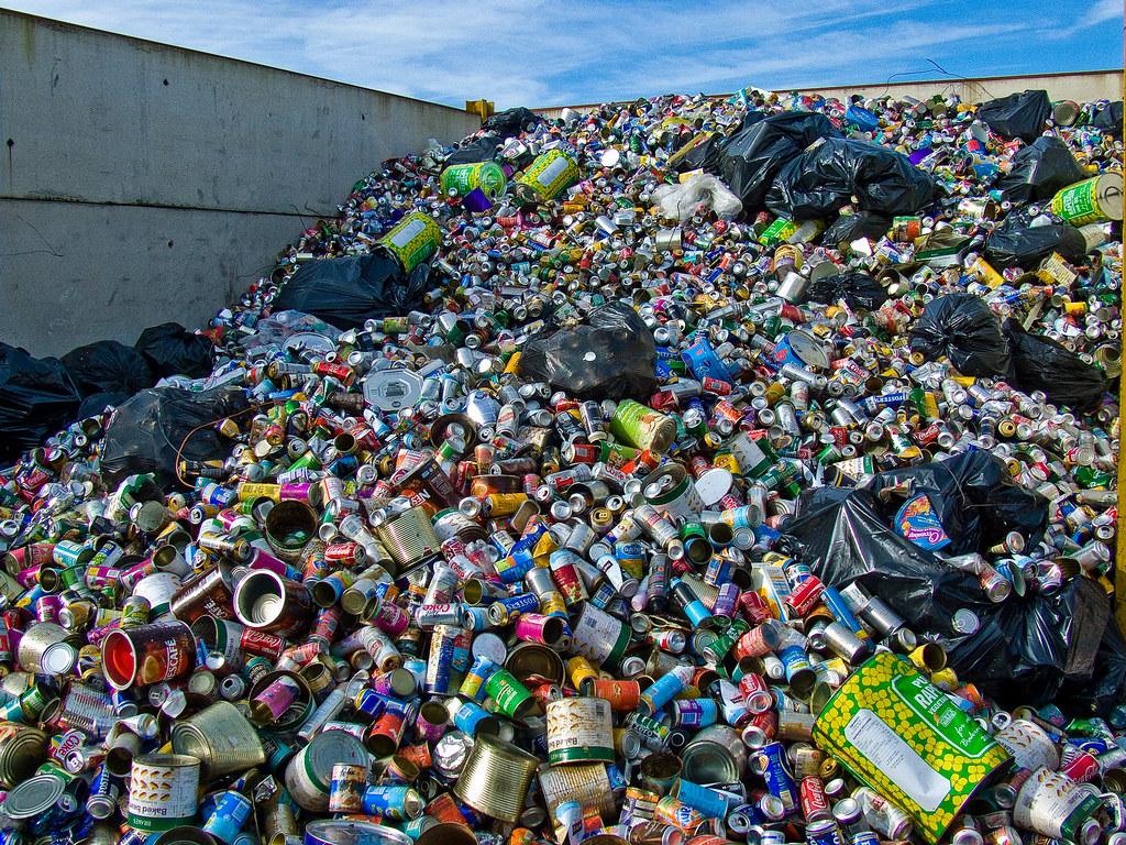 Recycling tins