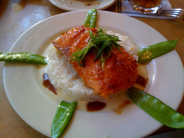 miso salmon @ the cheesecake factory | Flickr - Photo Sharing!