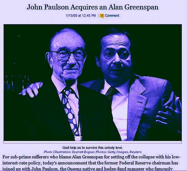 bankers, greenspan, paulson