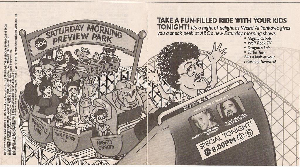 ABC Saturday Morning Cartoon Preview ad, 1984