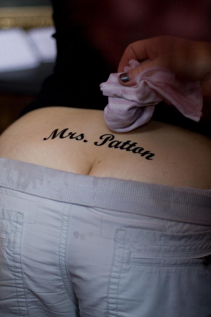 Mrs. Patton closeup
