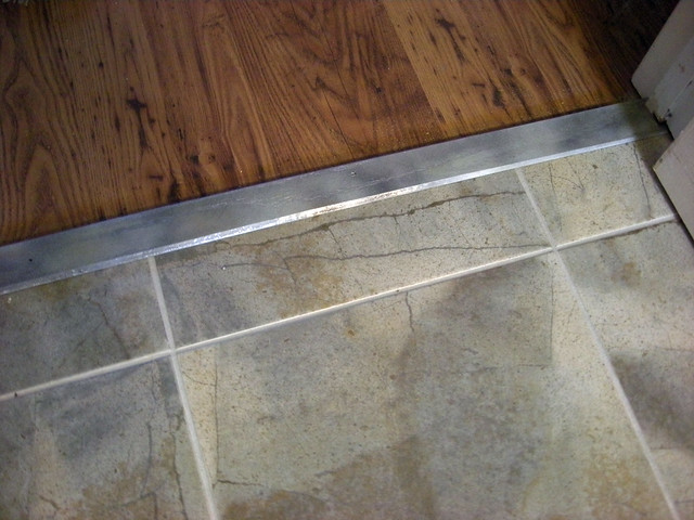 Kitchen tile floor  threshold  Flickr  Photo Sharing