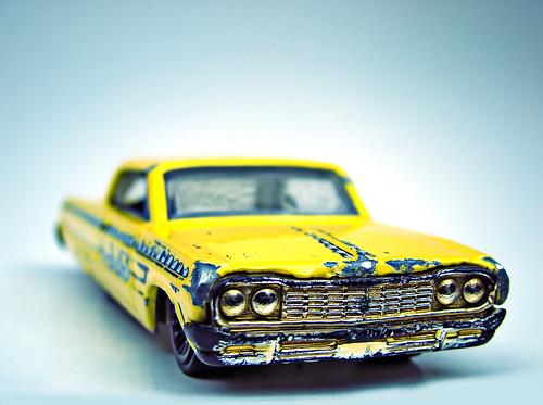 cc: flickr by Bruno. C.: toy car 64 Chevy Impala