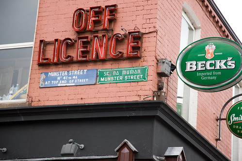 OFF LICENCE - MUNSTER STREET