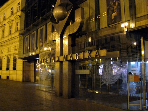Laterna Magika, Closed for the Night