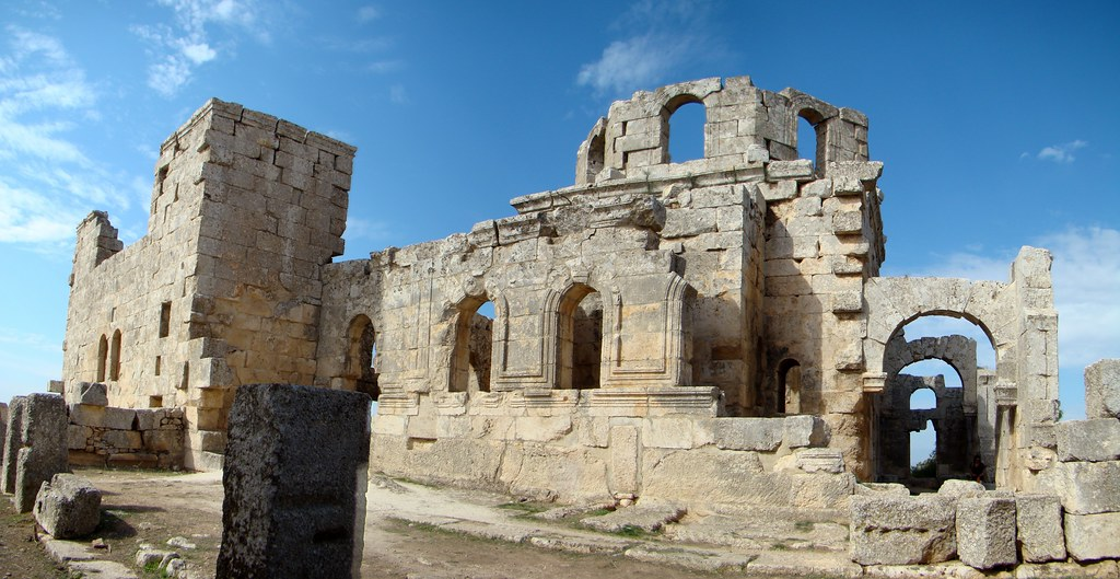 Baptisterio Monasterio de San Simeon Siria 56