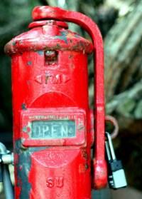 Fire Standpipe | Old fashioned fire standpipe. Near the ...