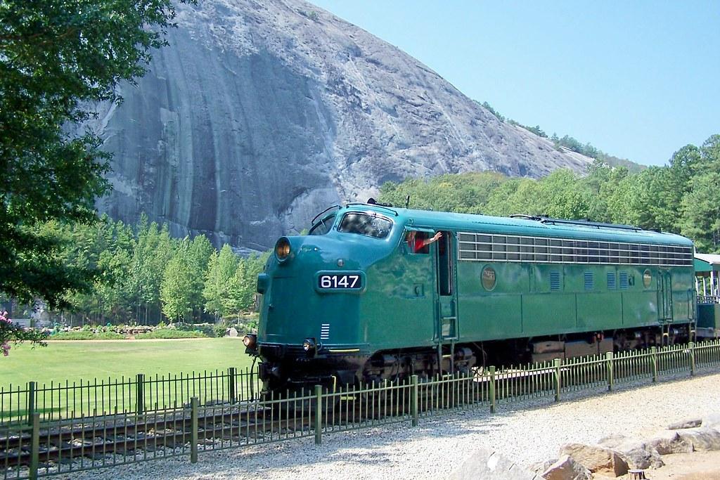 Stone Mountain Scenic Railroad Georgia The Stone