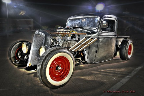 The Coe Rat Rod With New Pipes