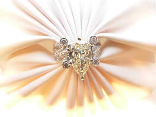 Diamond engagement Ring by njdiamonds