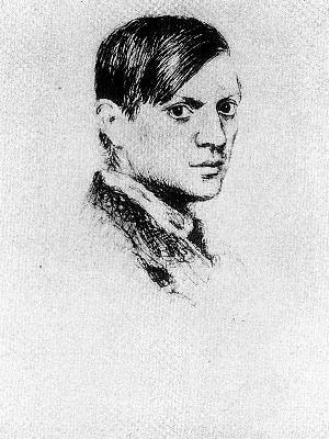 """""""Autorretrato"""" (1917), de Pablo Picasso - Foto: RasMarley, en Flickr"""