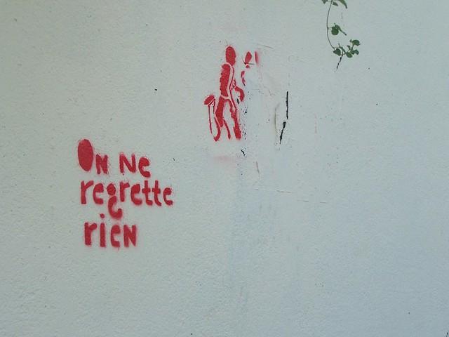 on ne regrette rien