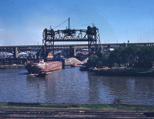Eagle St Bridge 1963 Cleveland OH