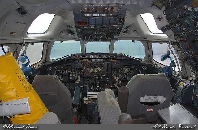 Untitled Douglas DC863F N950R Cockpit  A pulled