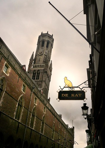De Kat (The Cat) - Beffroi de Bruges - Photo : Gilderic