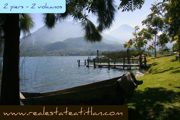 Guatemala Real Estate on Lake Atitlan  Santiago Atitlan