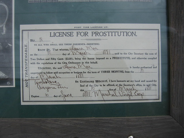License for prostitution Santa Fe NM  Flickr  Photo
