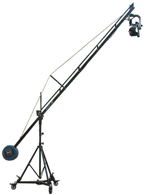 (FDJH-300) FDL 250 Floor Dolly 14ft Jib Crane Sr.Pan Tilt