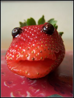 Strawberry face. (Sorry, i'm joking)