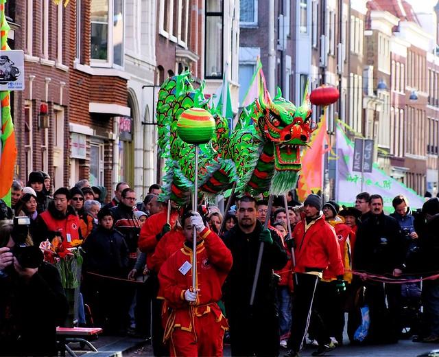 Chinees Nieuwjaar. Foto door Roel Wijnants, op Flickr.